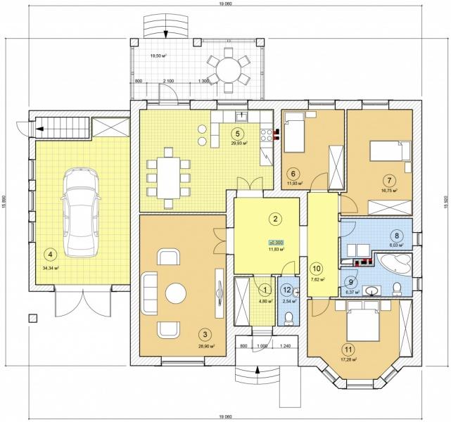 проект дома в белгороде одноэтажный